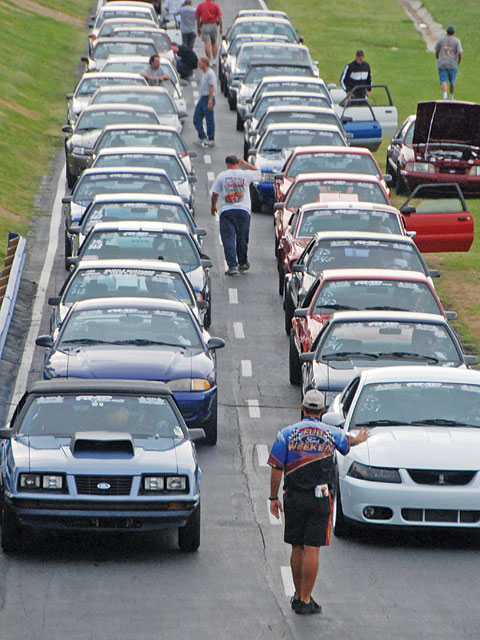 Fun Ford Nationals Mustang Lineup