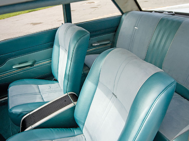1964 Mercury Comet 404 Interior Seats