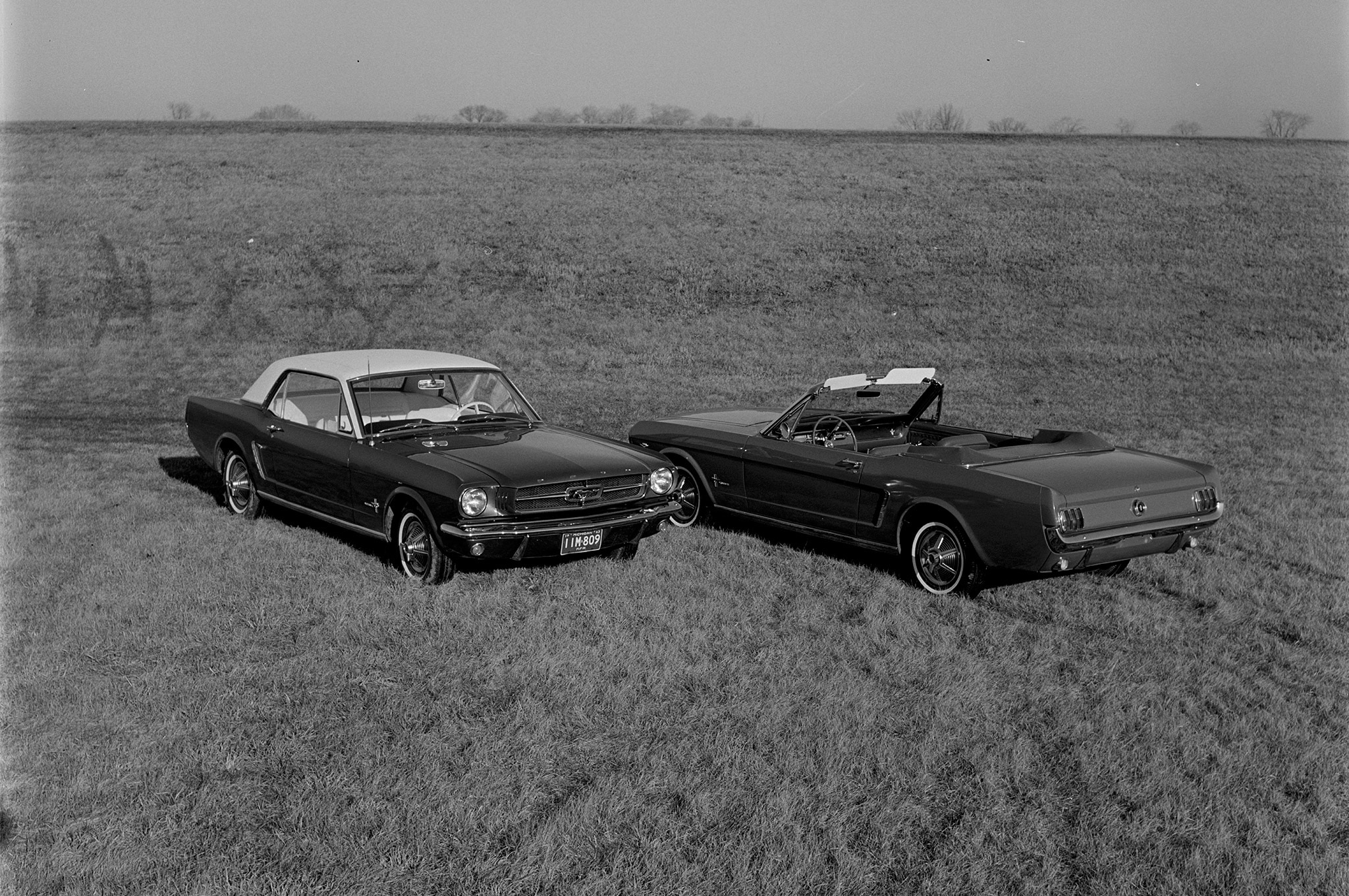 May 1964 Motor Trend Mustang Road Test Side By Side