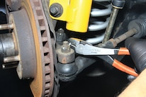 NPD Rack Install Fox Mustang Steering Rack Removal