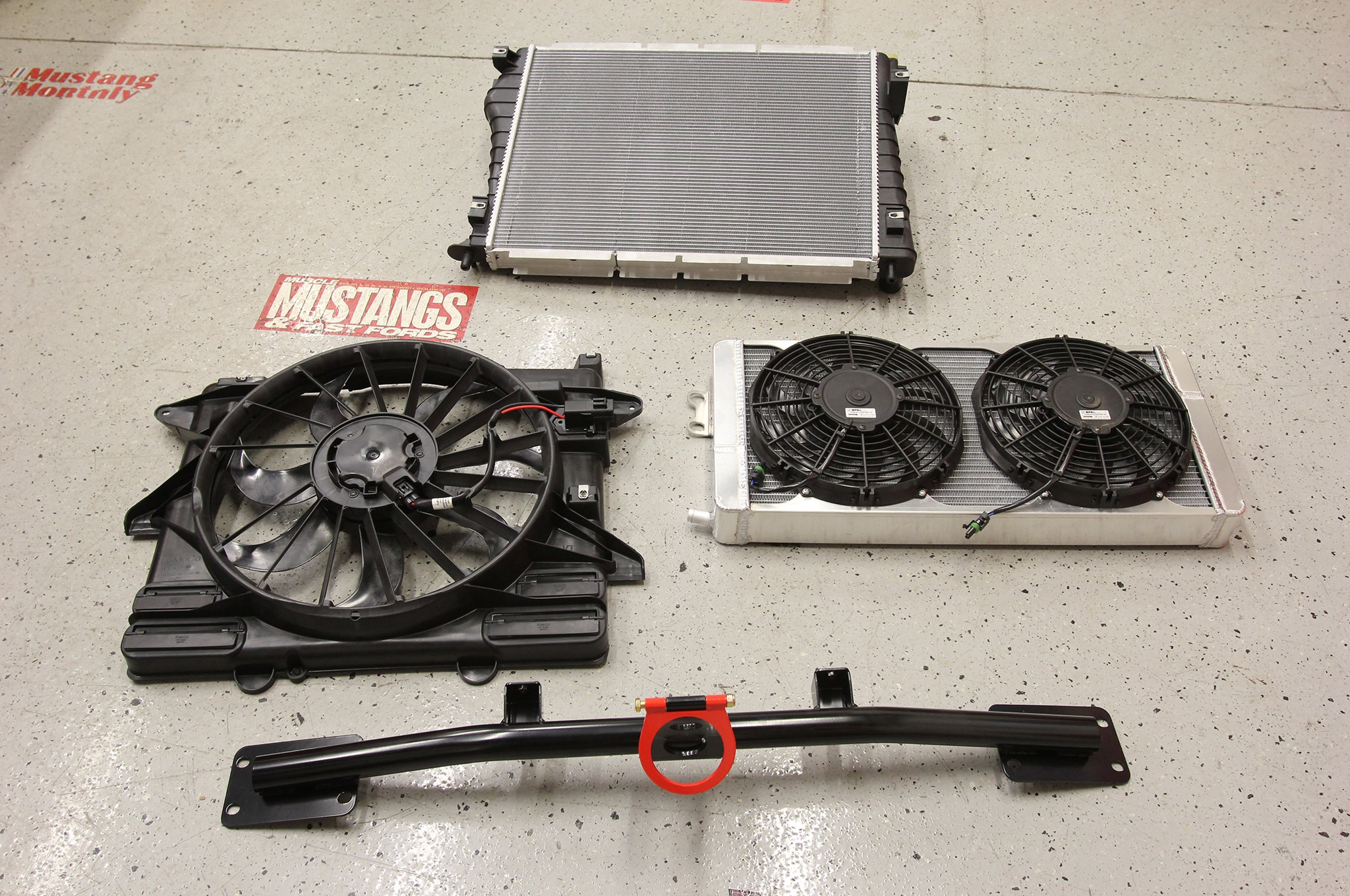 2011 Ford Mustang Vmp Supercharger Cooling Upgrade Components