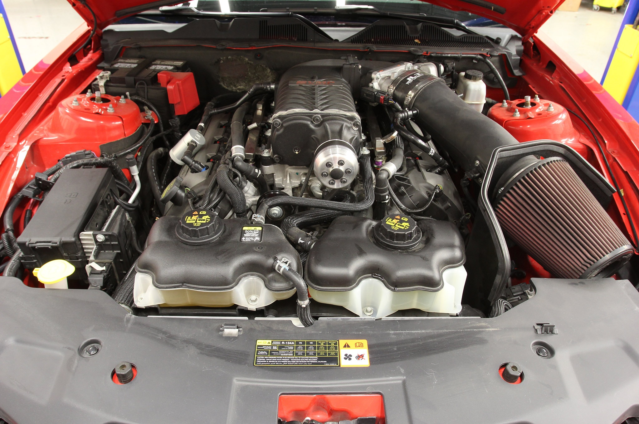 2011 Ford Mustang Vmp Supercharger Cooling Upgrade Finished