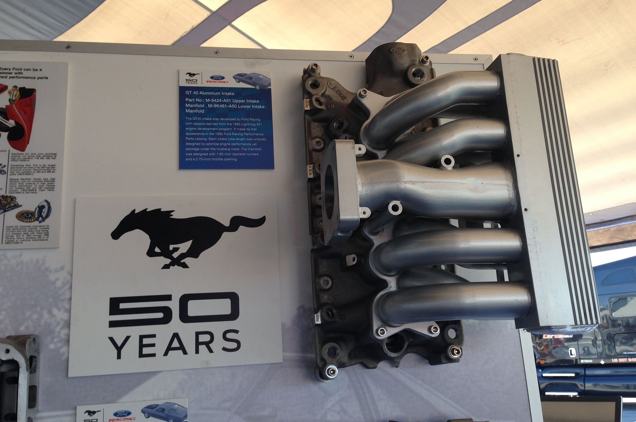 1979 To 1995 Ford Mustang Pushrod Engine History Gt40 Intake