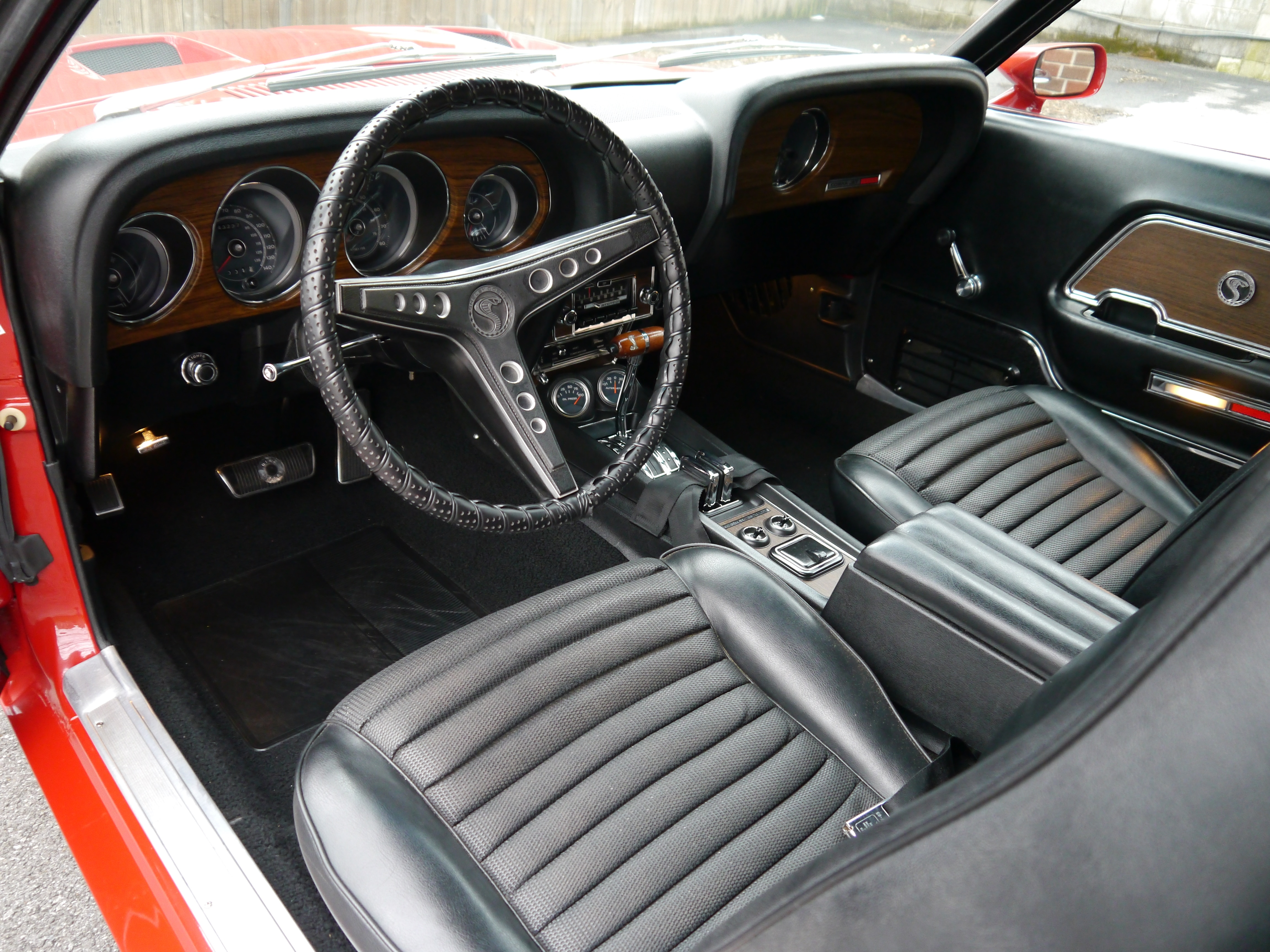 1969 ford mustang shelby gt interior