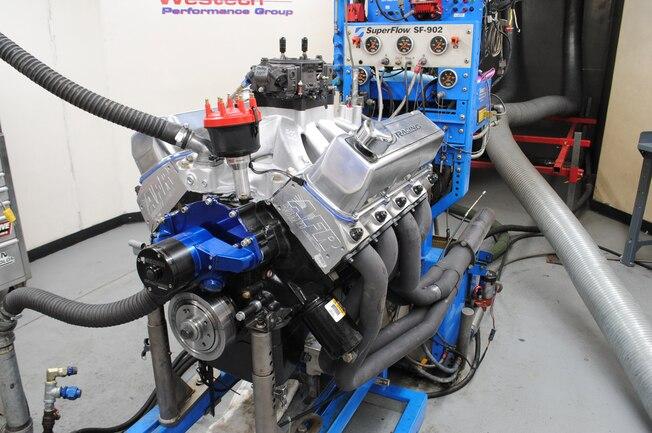Afr 270 Big Block Ford Cylinder Head Test Finished