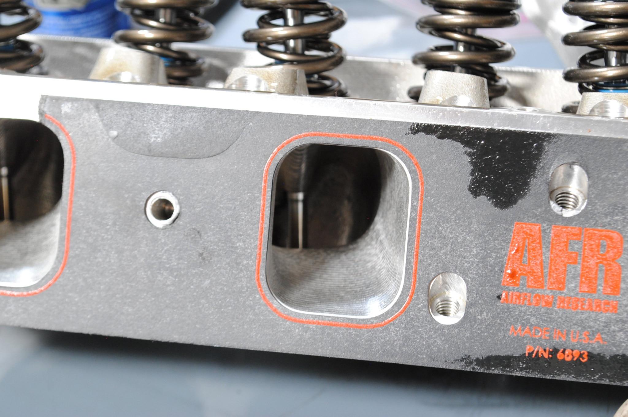 Afr 270 Big Block Ford Cylinder Head Test Intake Port