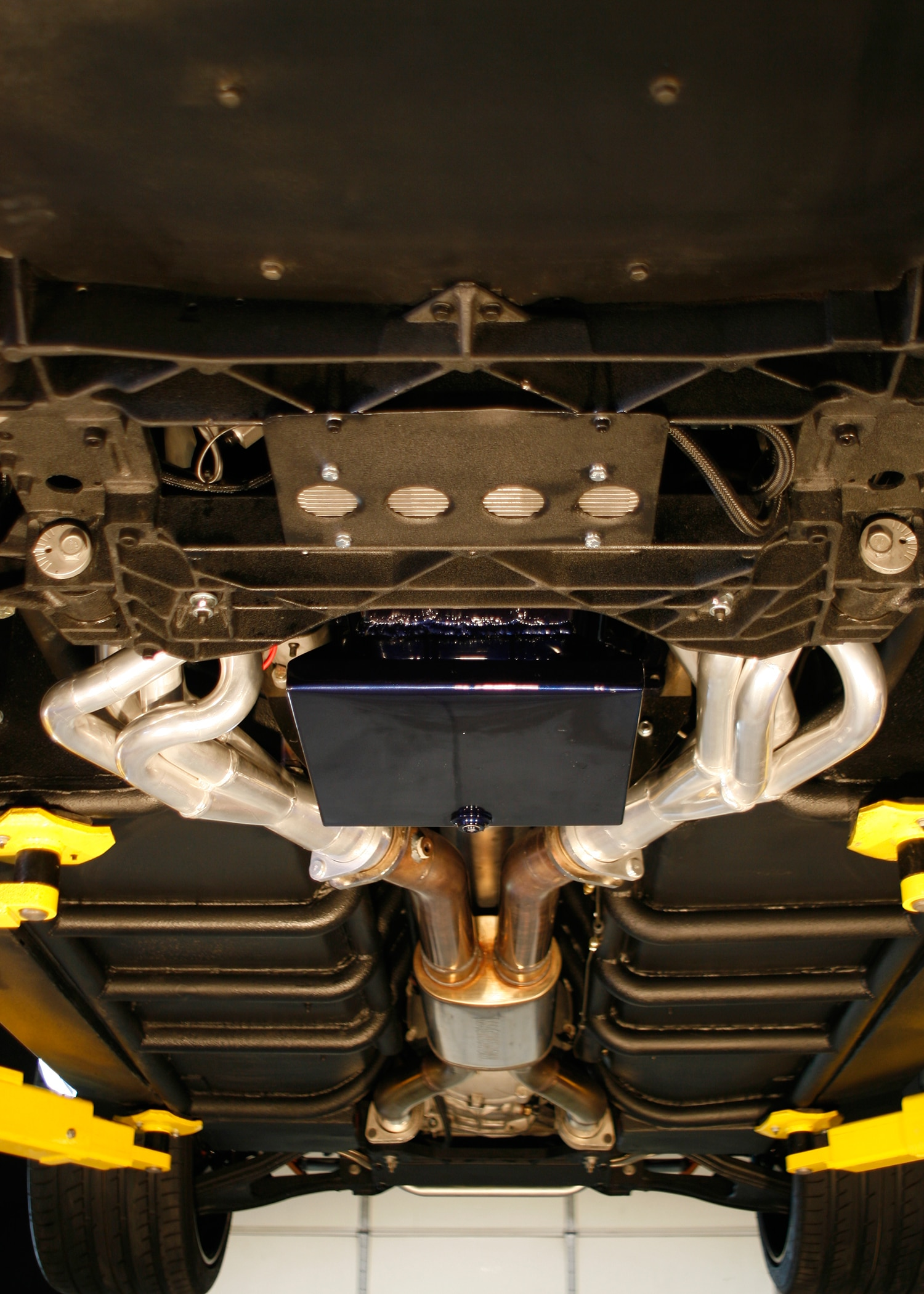 1978 Ford Mustang Undercarriage