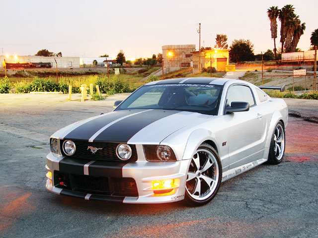 2008 Ford Mustang Gt Sideview