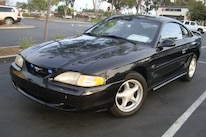 1994 Ford Mustang GT Front Three Quarter