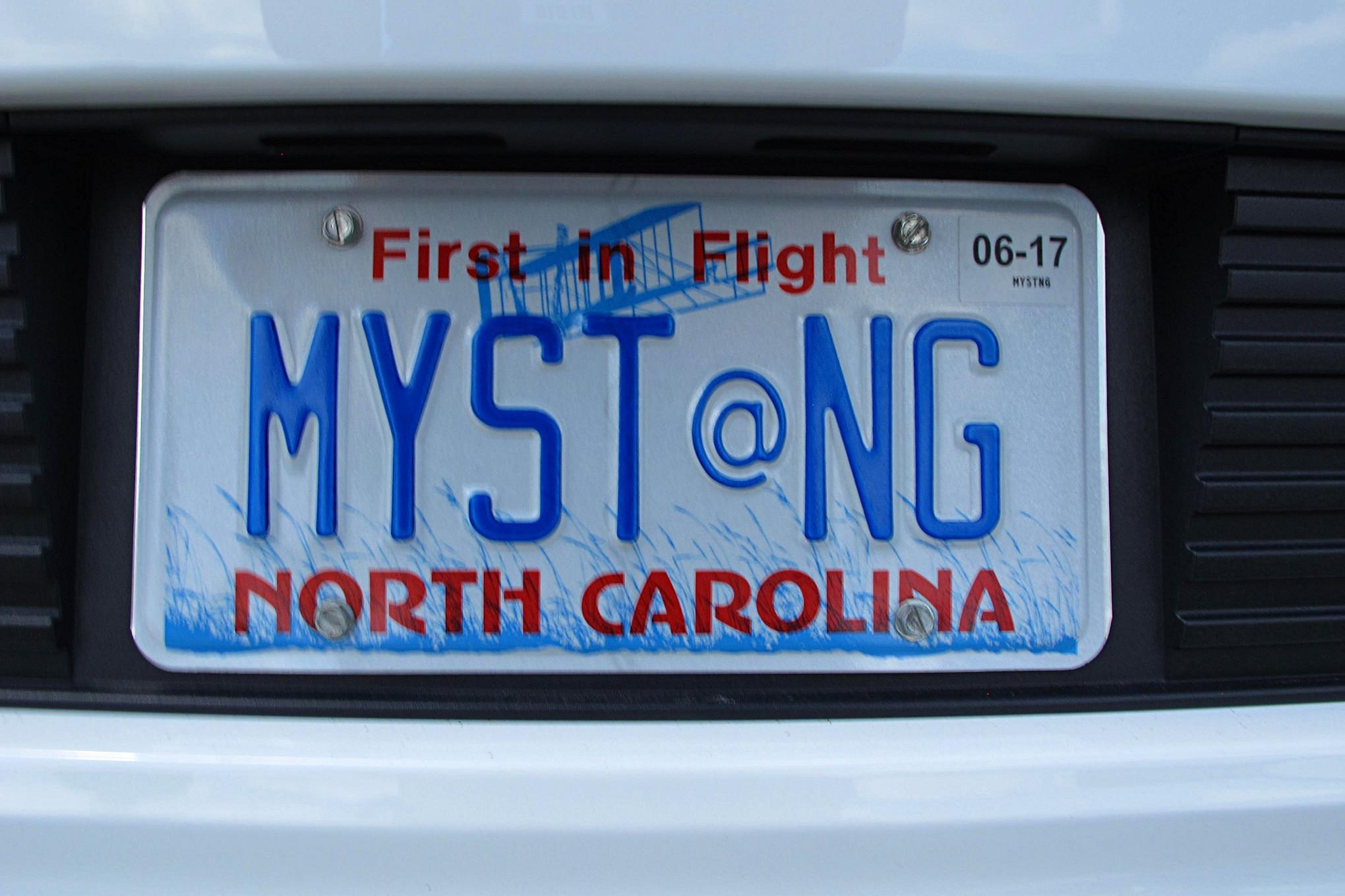 2016 Mustang Week Mustangs Custom License Plates 30