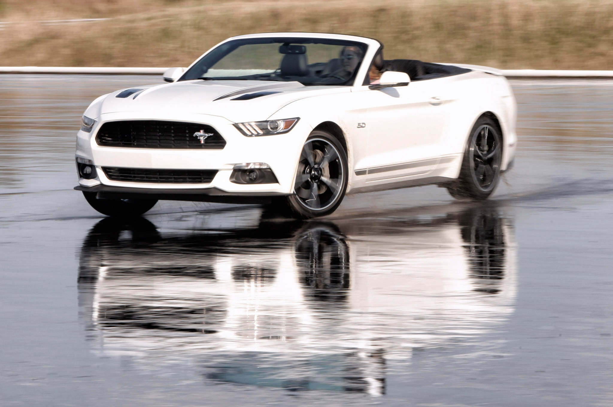 2016 ford mustang white convertible photo 113884151 ford unveils