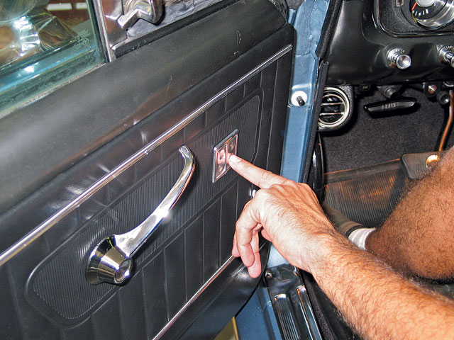 Power Window Upgrade Door Side Panel