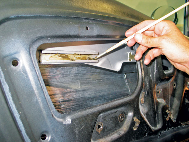 Power Window Upgrade Grease Application