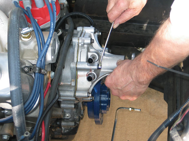1965 Mercury Comet Aluminum Water Pump