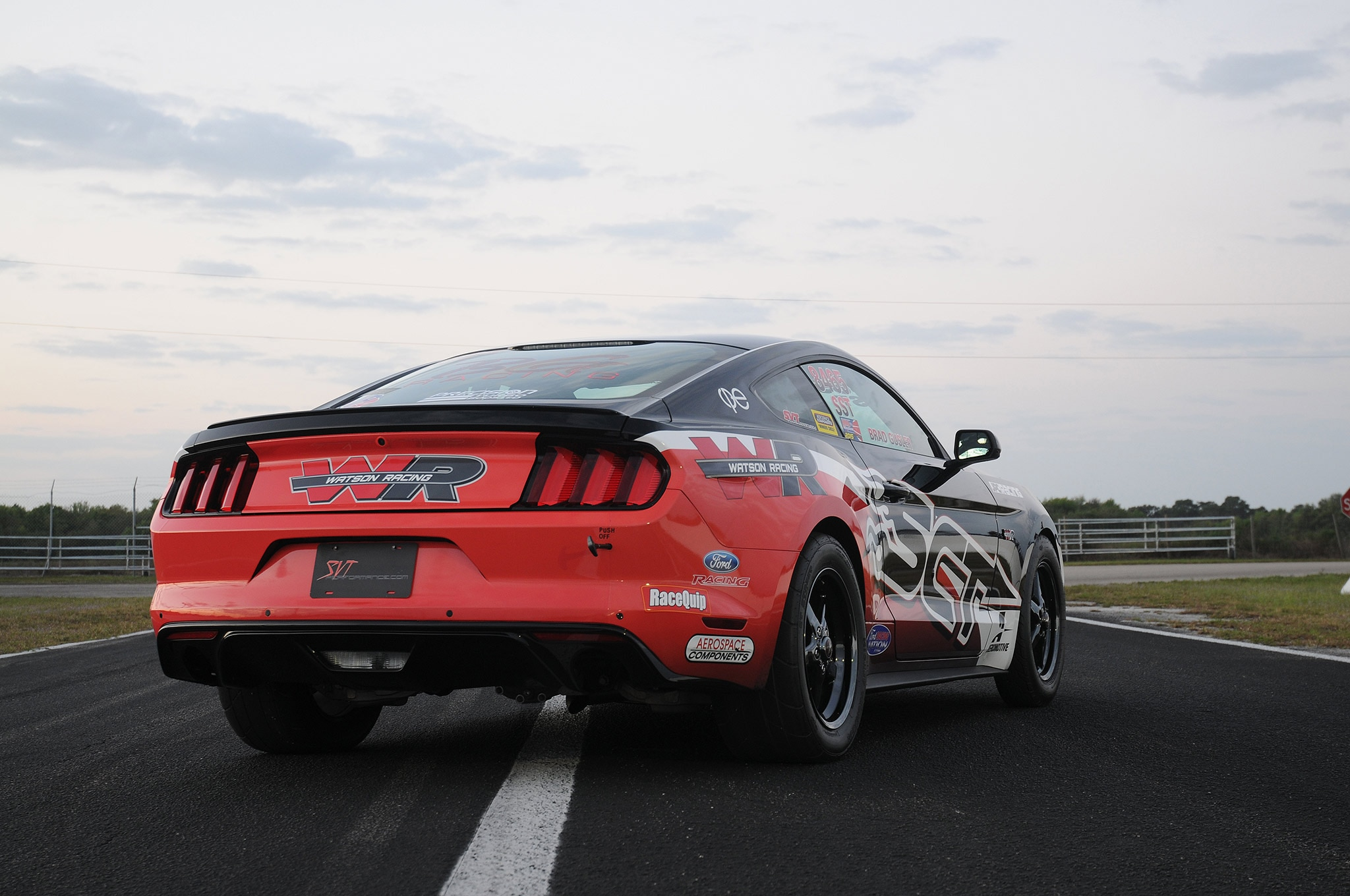 2015 Ford Mustang Ecoboost Rear Quarter