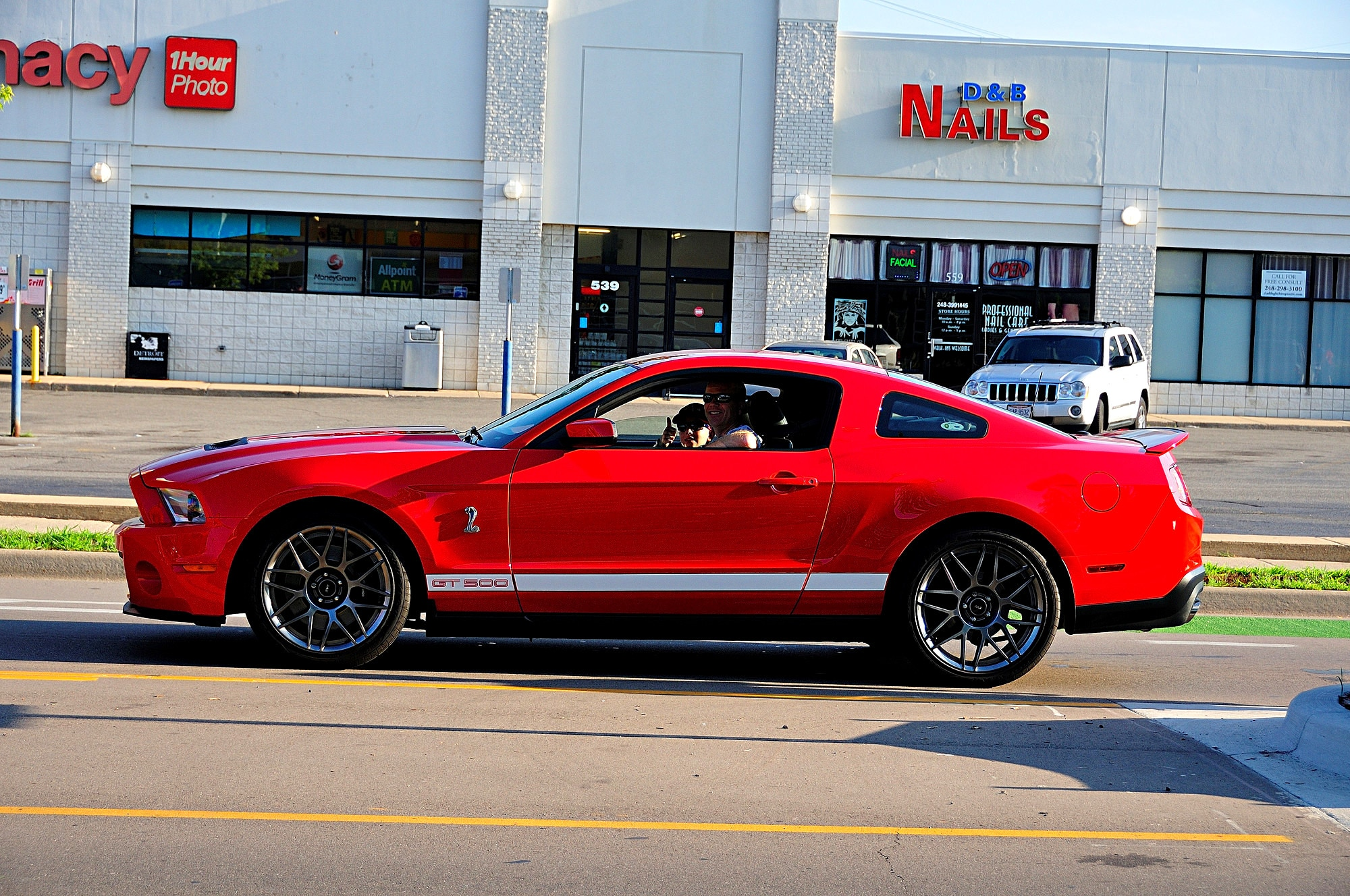 2016 Woodward Dream Cruise Mustang Alley 362