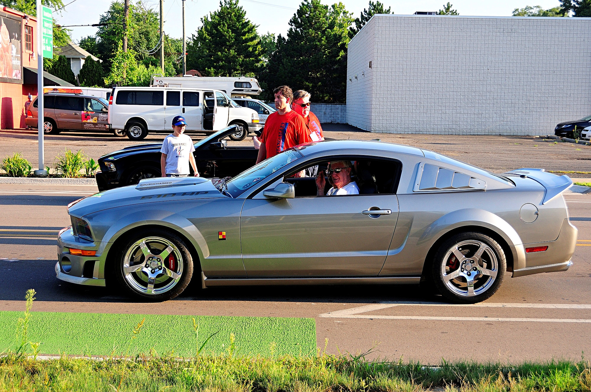 2016 Woodward Dream Cruise Mustang Alley 326