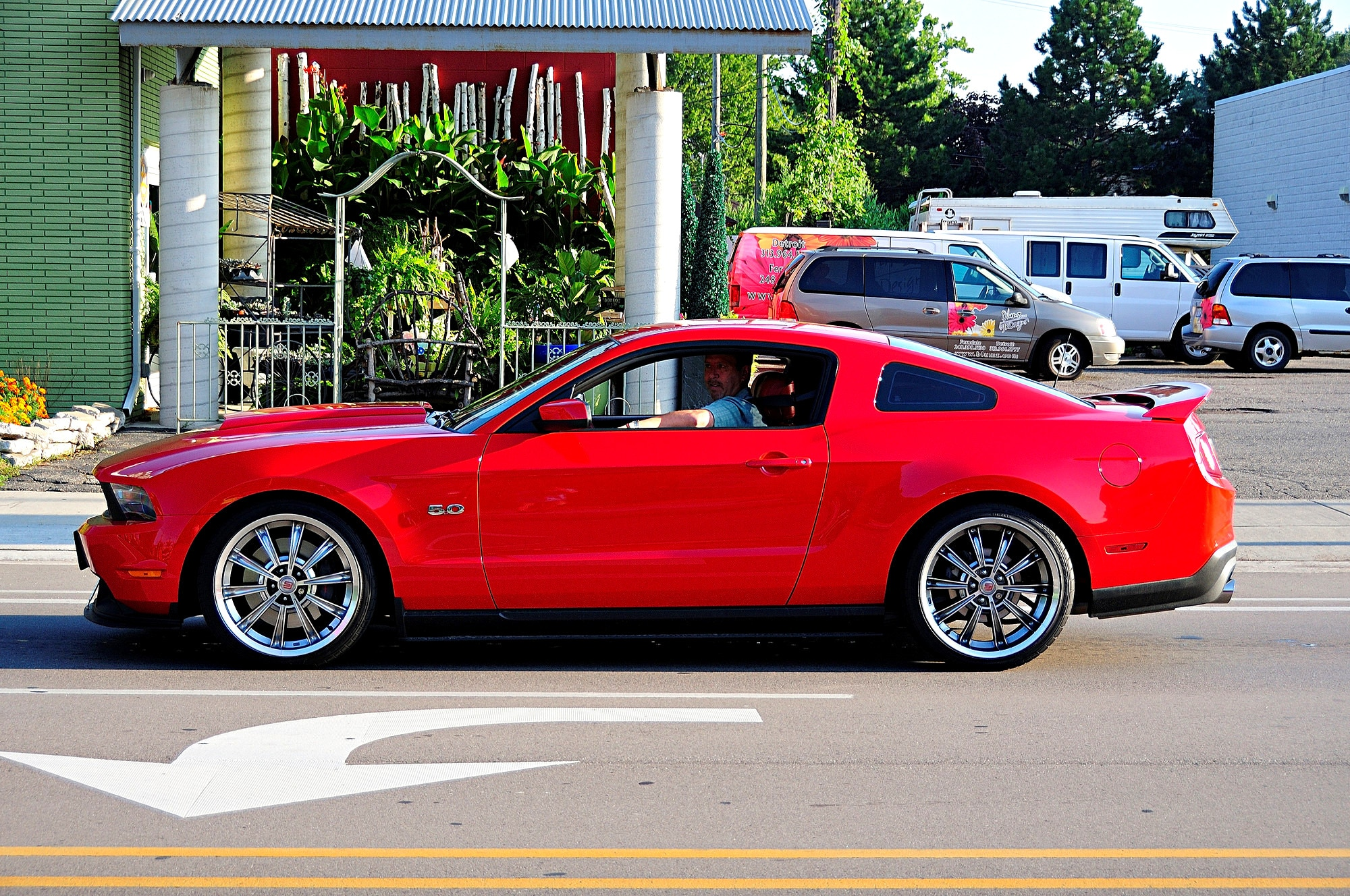 2016 Woodward Dream Cruise Mustang Alley 318