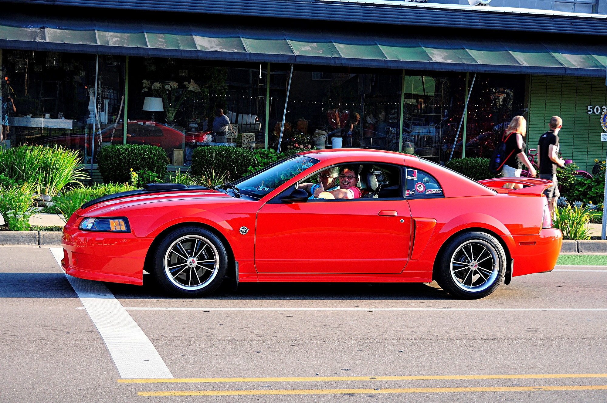 2016 Woodward Dream Cruise Mustang Alley 296