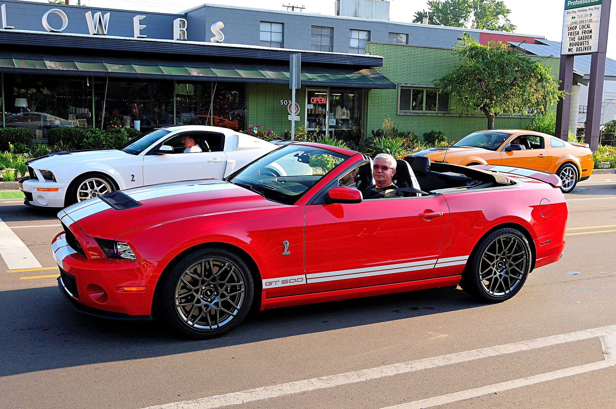 2016 Woodward Dream Cruise Mustang Alley 289