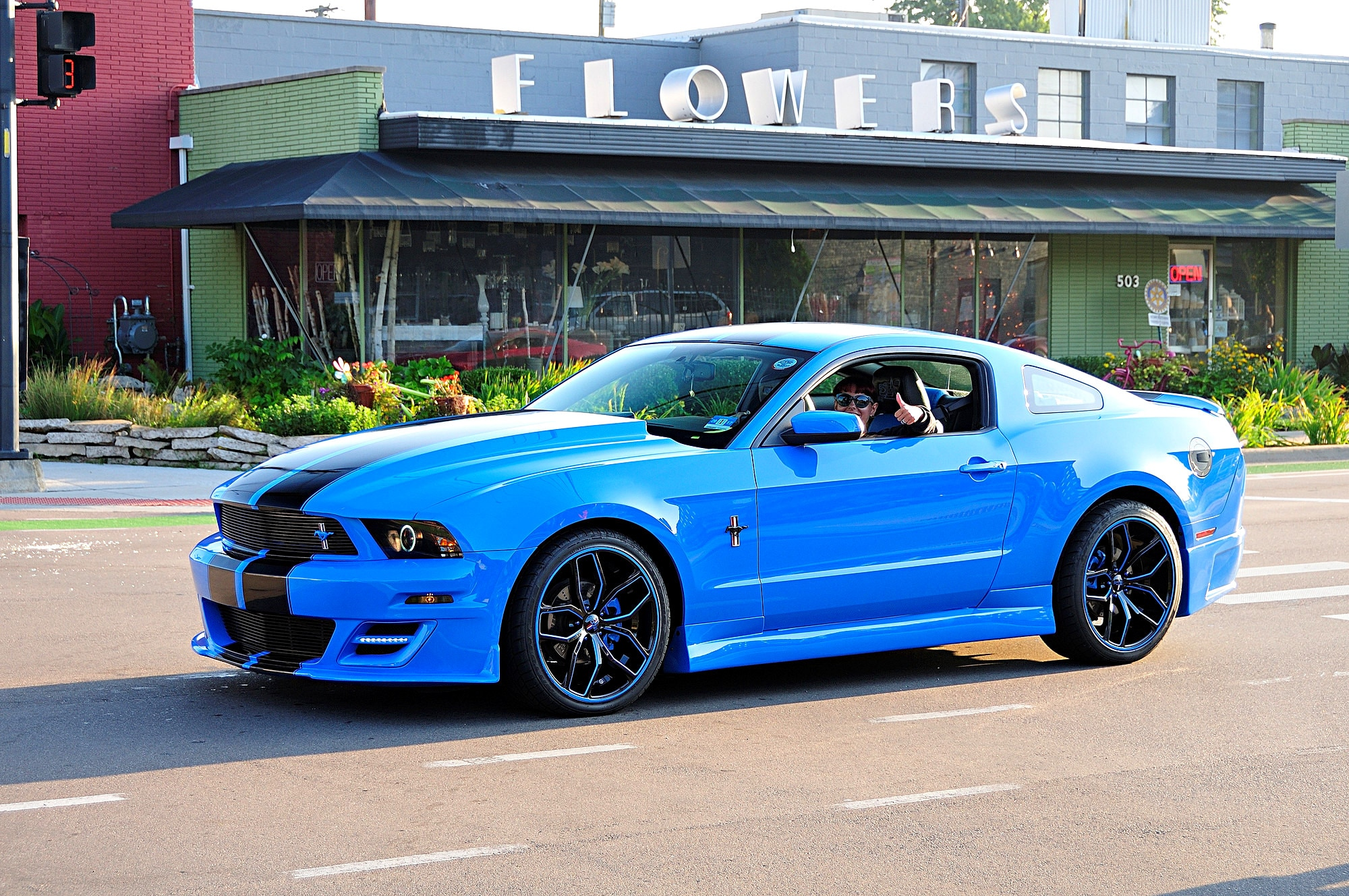 2016 Woodward Dream Cruise Mustang Alley 260