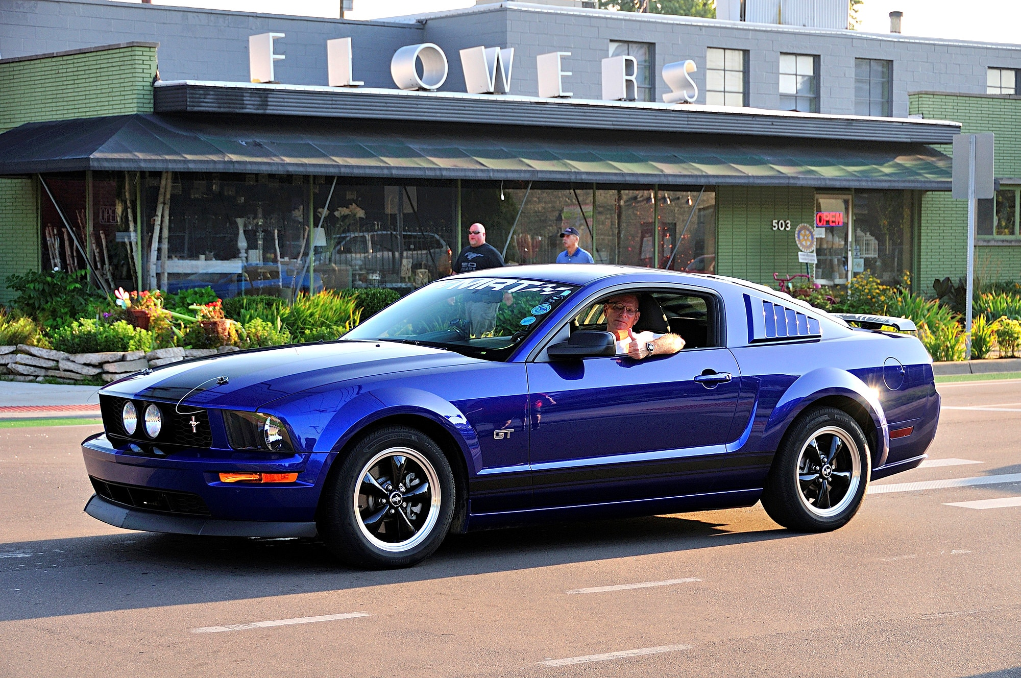 2016 Woodward Dream Cruise Mustang Alley 258