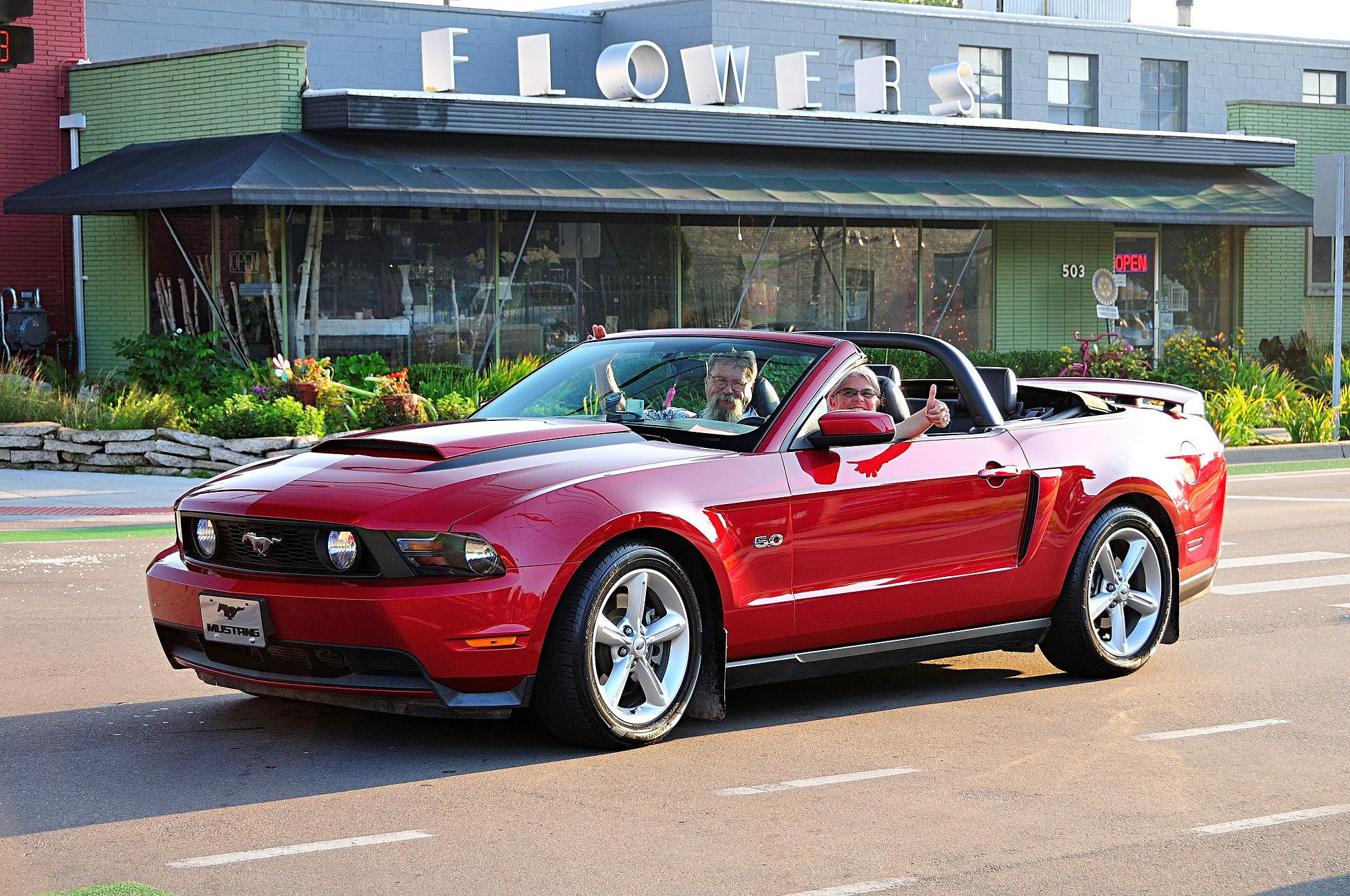 2016 Woodward Dream Cruise Mustang Alley 251