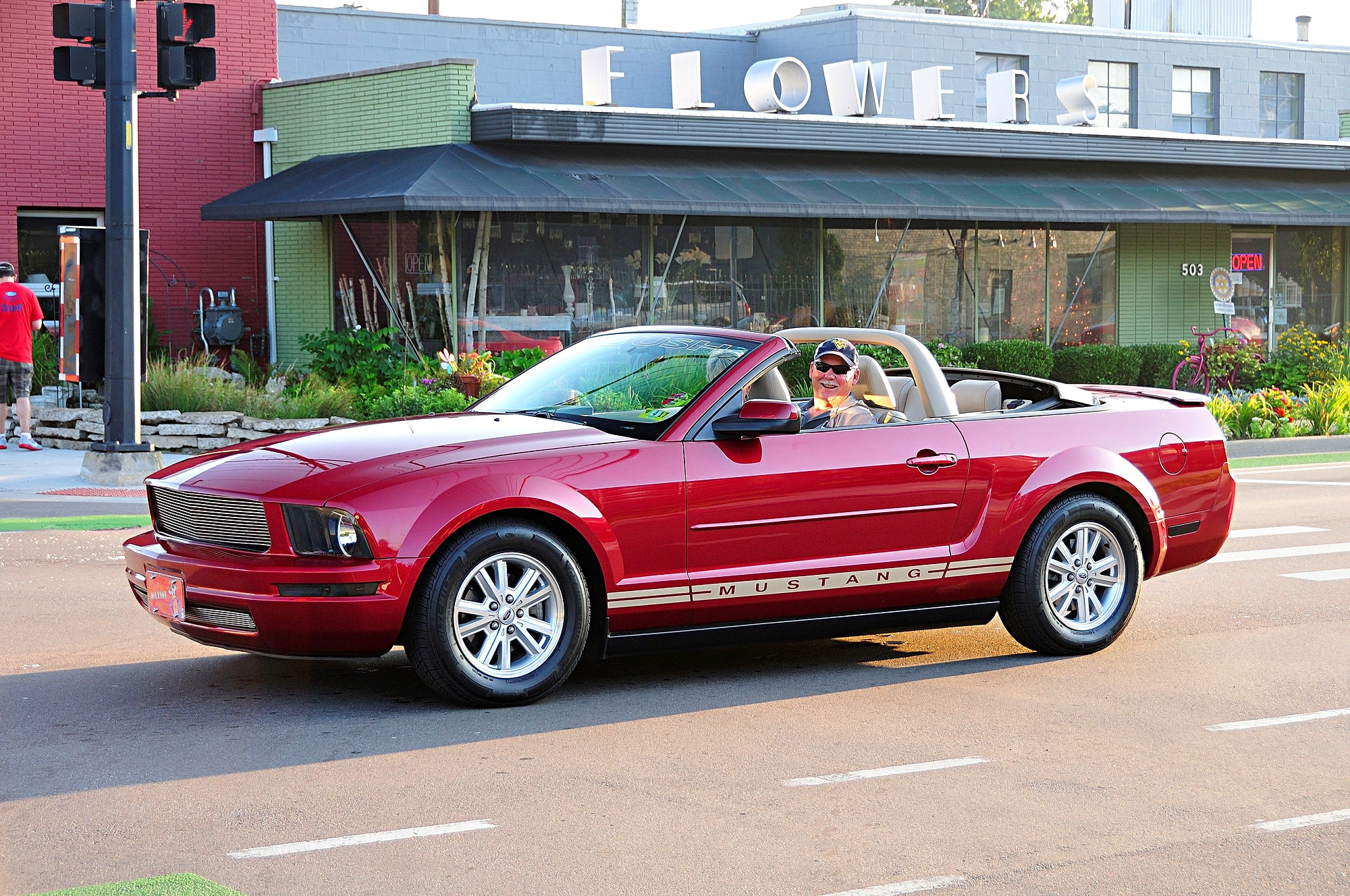 2016 Woodward Dream Cruise Mustang Alley 217
