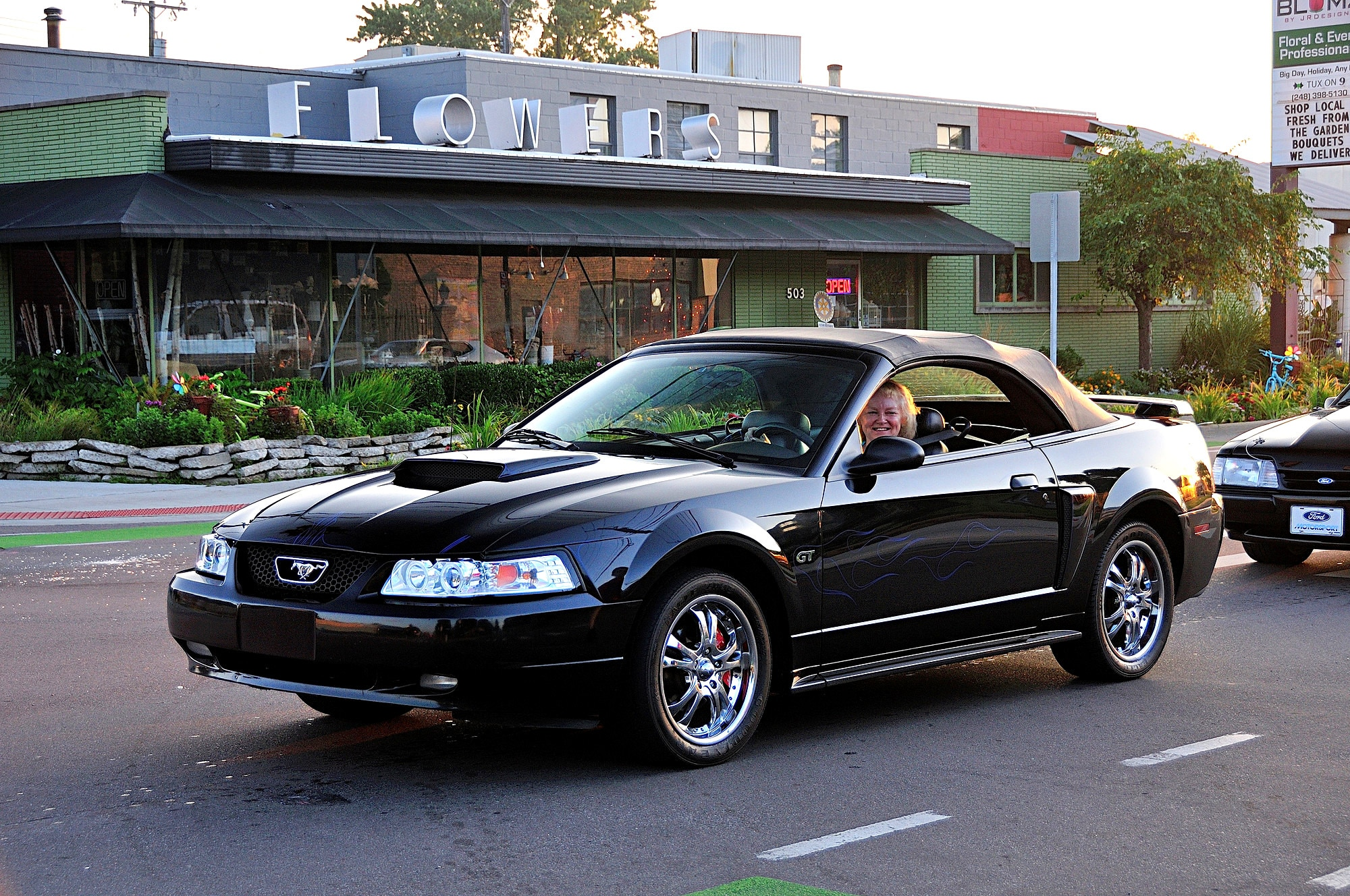 2016 Woodward Dream Cruise Mustang Alley 143