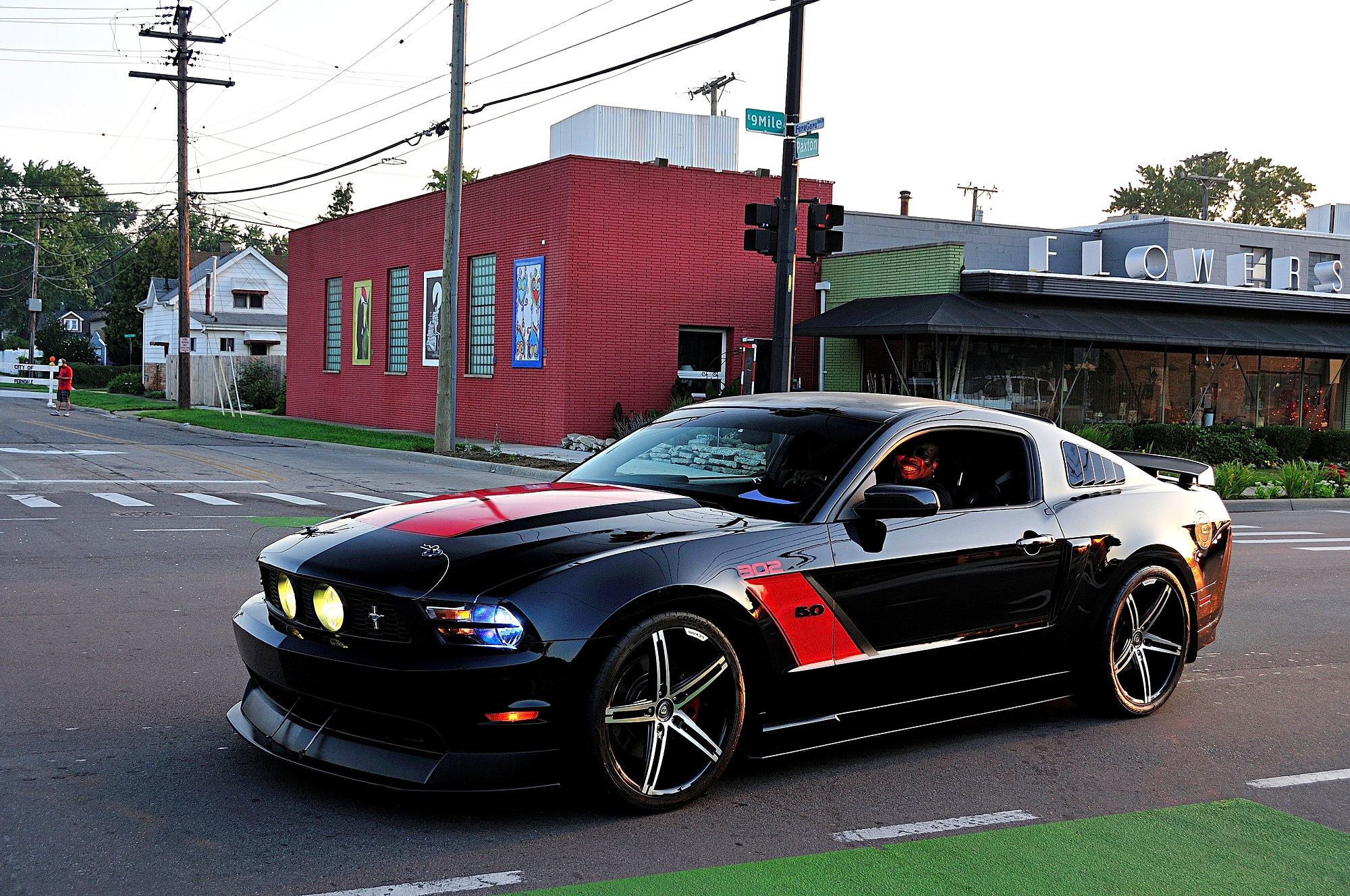 2016 Woodward Dream Cruise Mustang Alley 132
