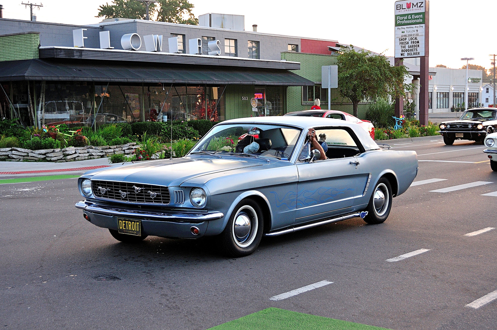 2016 Woodward Dream Cruise Mustang Alley 105