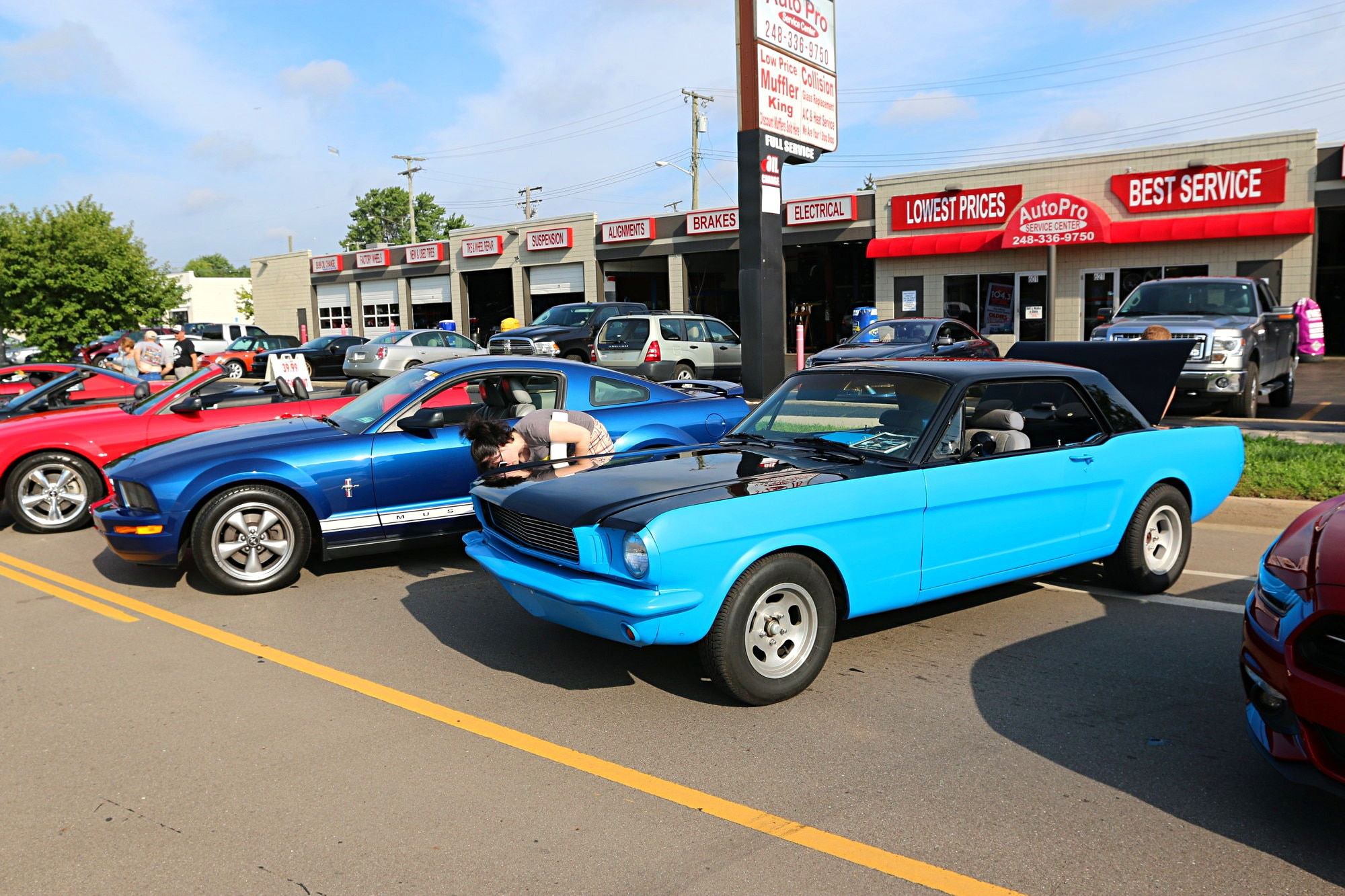 2016 Woodward Dream Cruise Mustang Alley 080