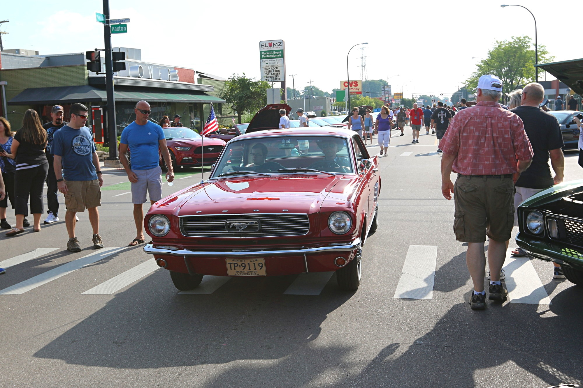 2016 Woodward Dream Cruise Mustang Alley 069