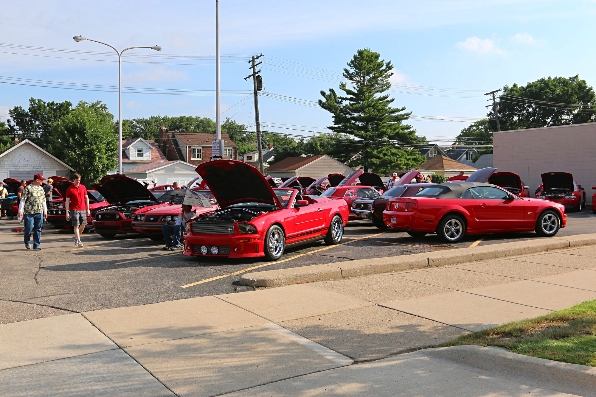 2016 Woodward Dream Cruise Mustang Alley 060