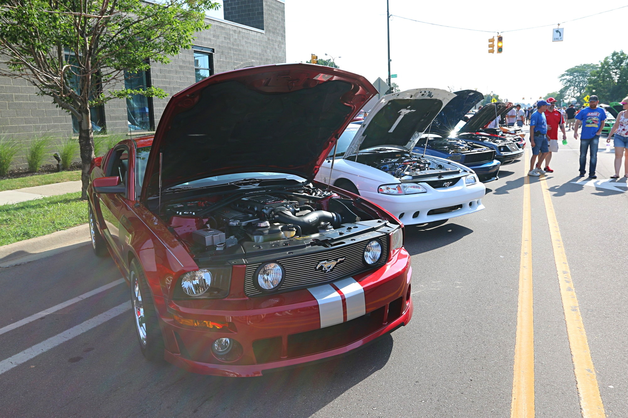 2016 Woodward Dream Cruise Mustang Alley 056