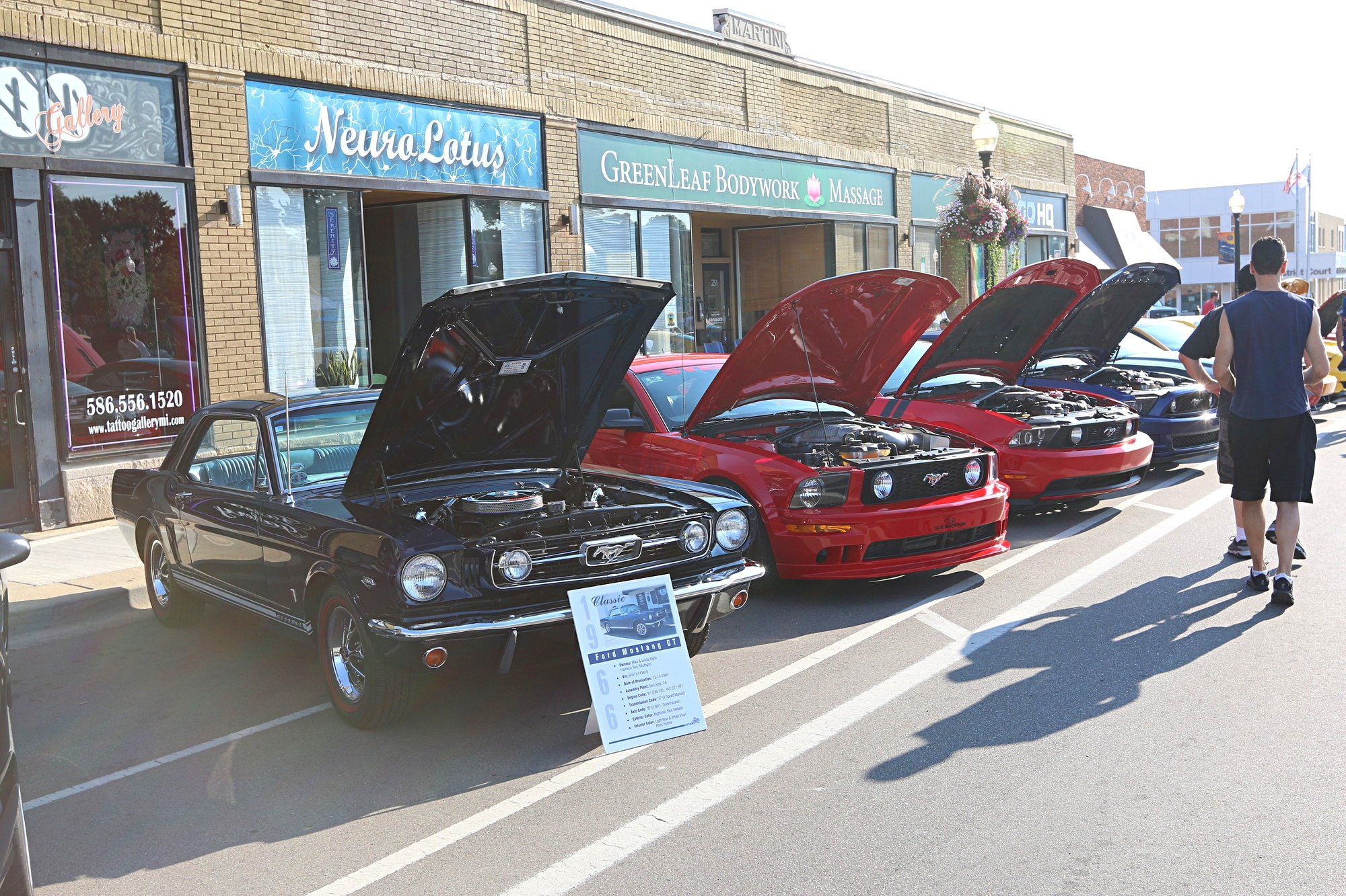 2016 Woodward Dream Cruise Mustang Alley 046