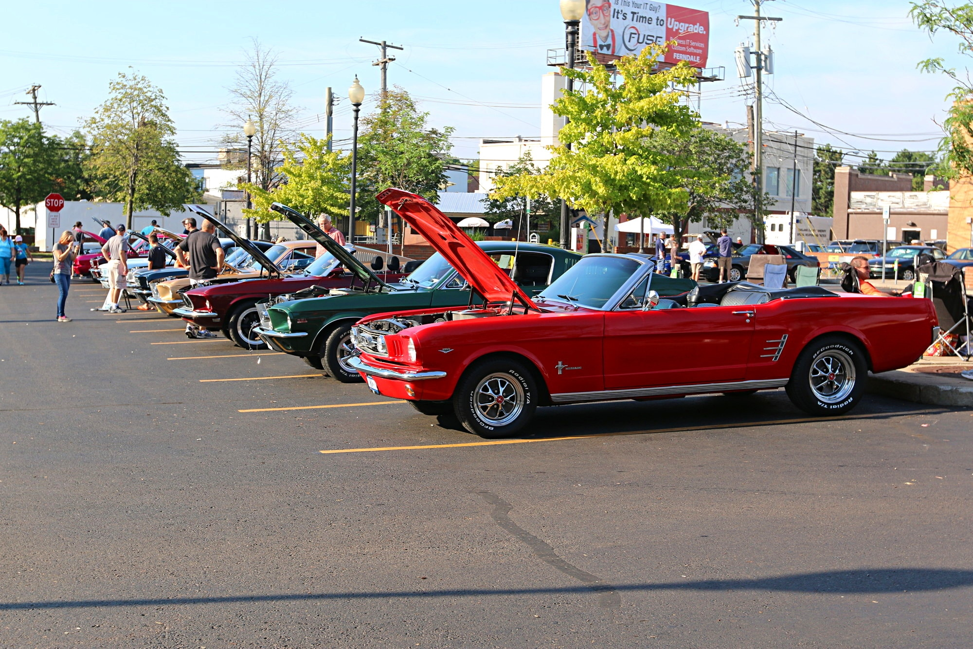 2016 Woodward Dream Cruise Mustang Alley 041