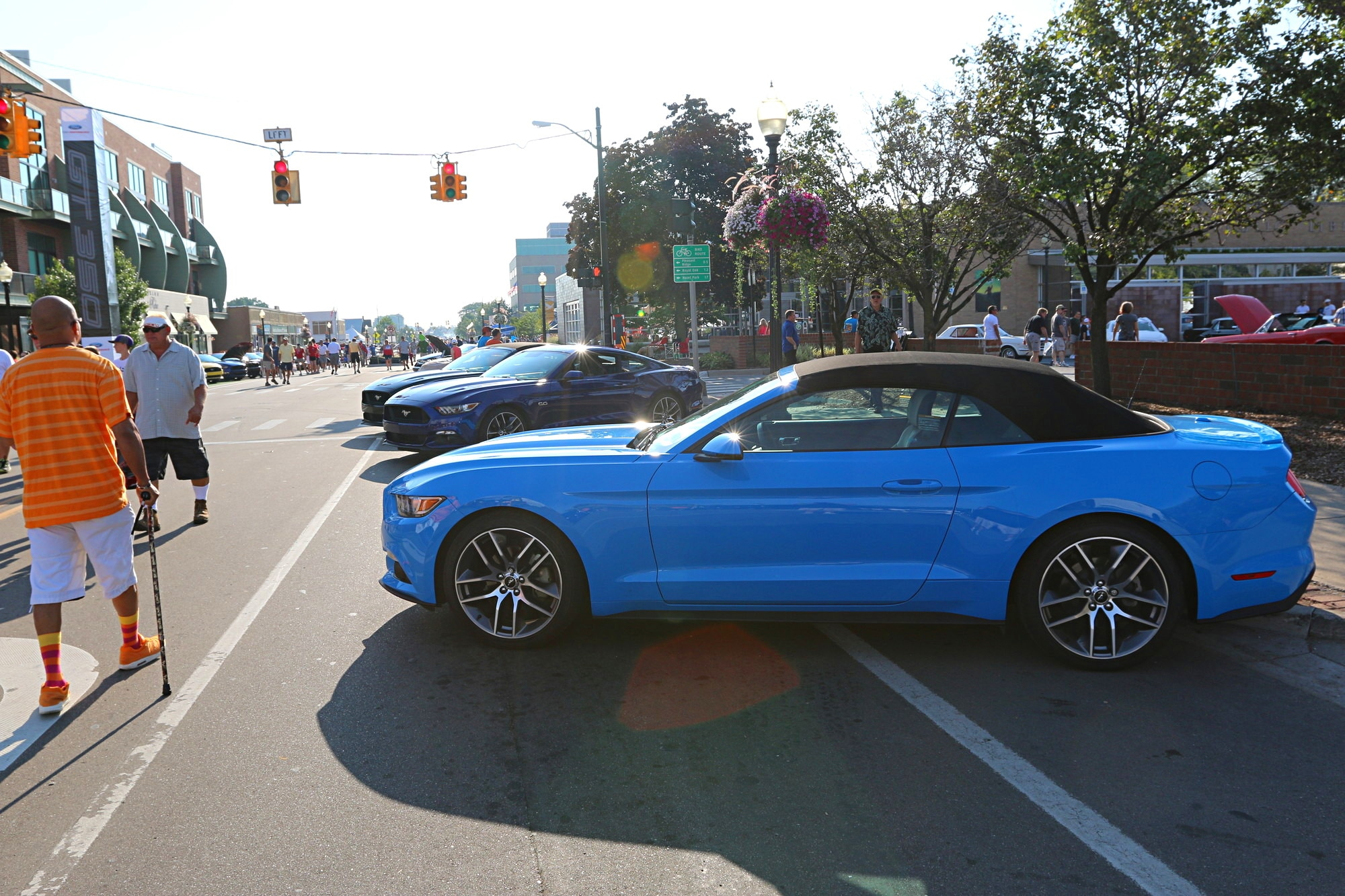 2016 Woodward Dream Cruise Mustang Alley 040