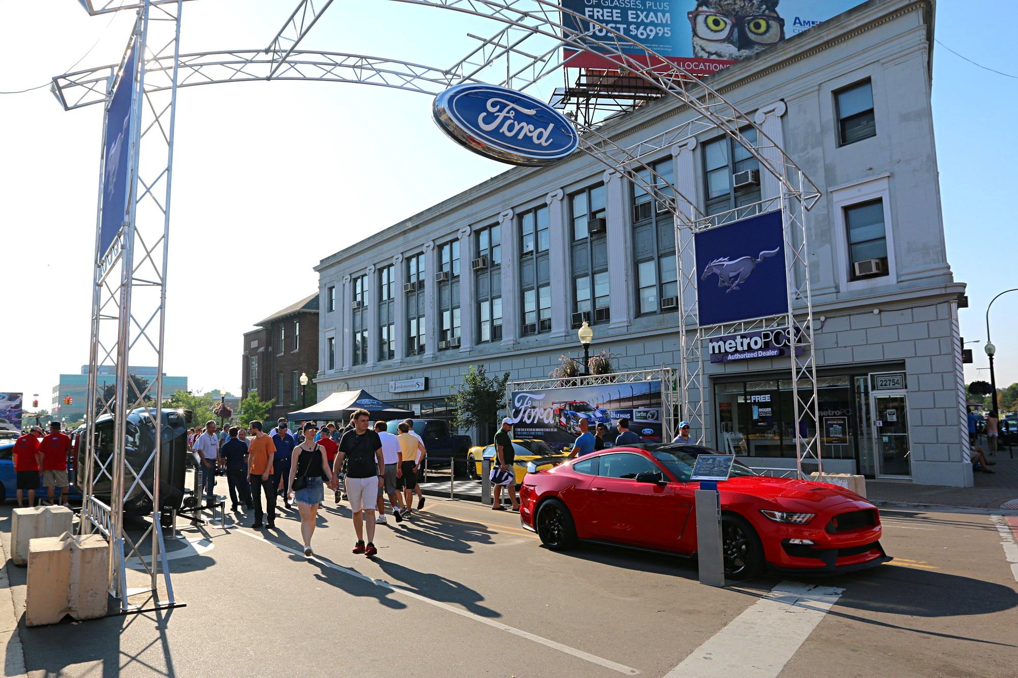 2016 Woodward Dream Cruise Mustang Alley 034