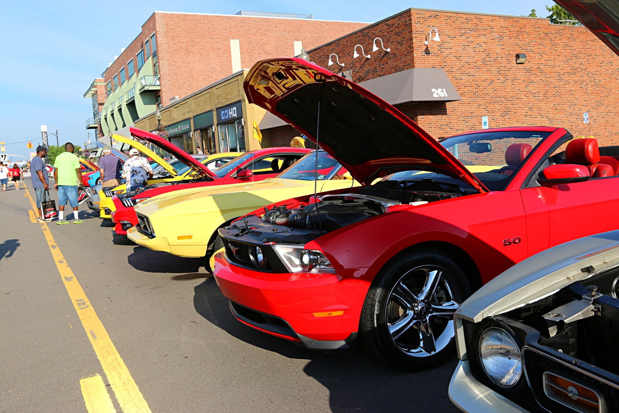 2016 Woodward Dream Cruise Mustang Alley 029
