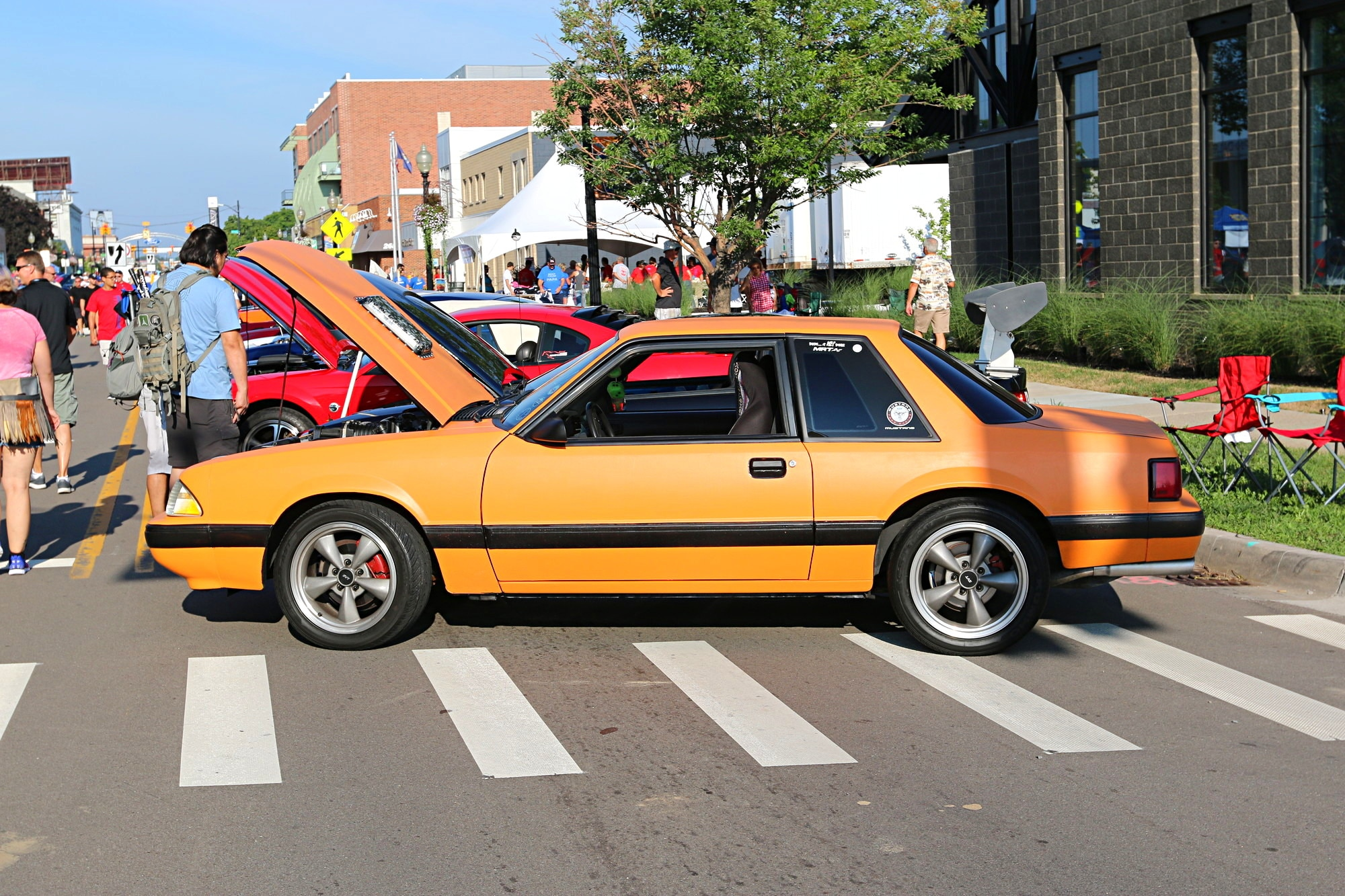 2016 Woodward Dream Cruise Mustang Alley 027