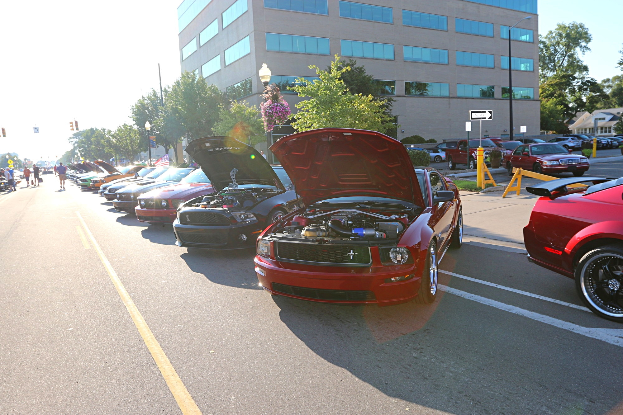2016 Woodward Dream Cruise Mustang Alley 022
