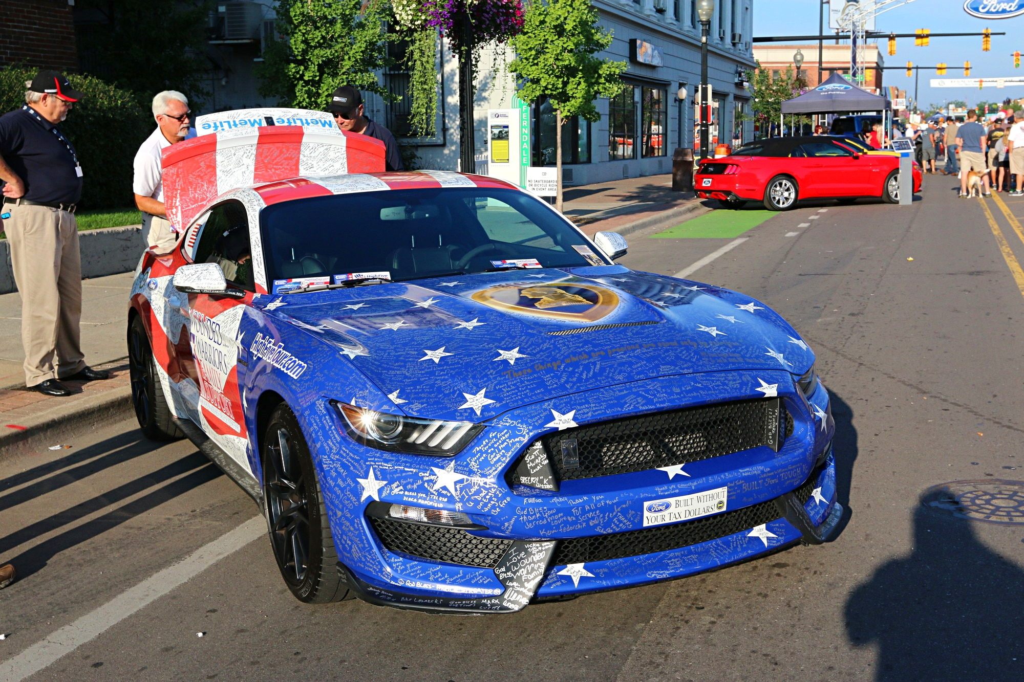 2016 Woodward Dream Cruise Mustang Alley 010