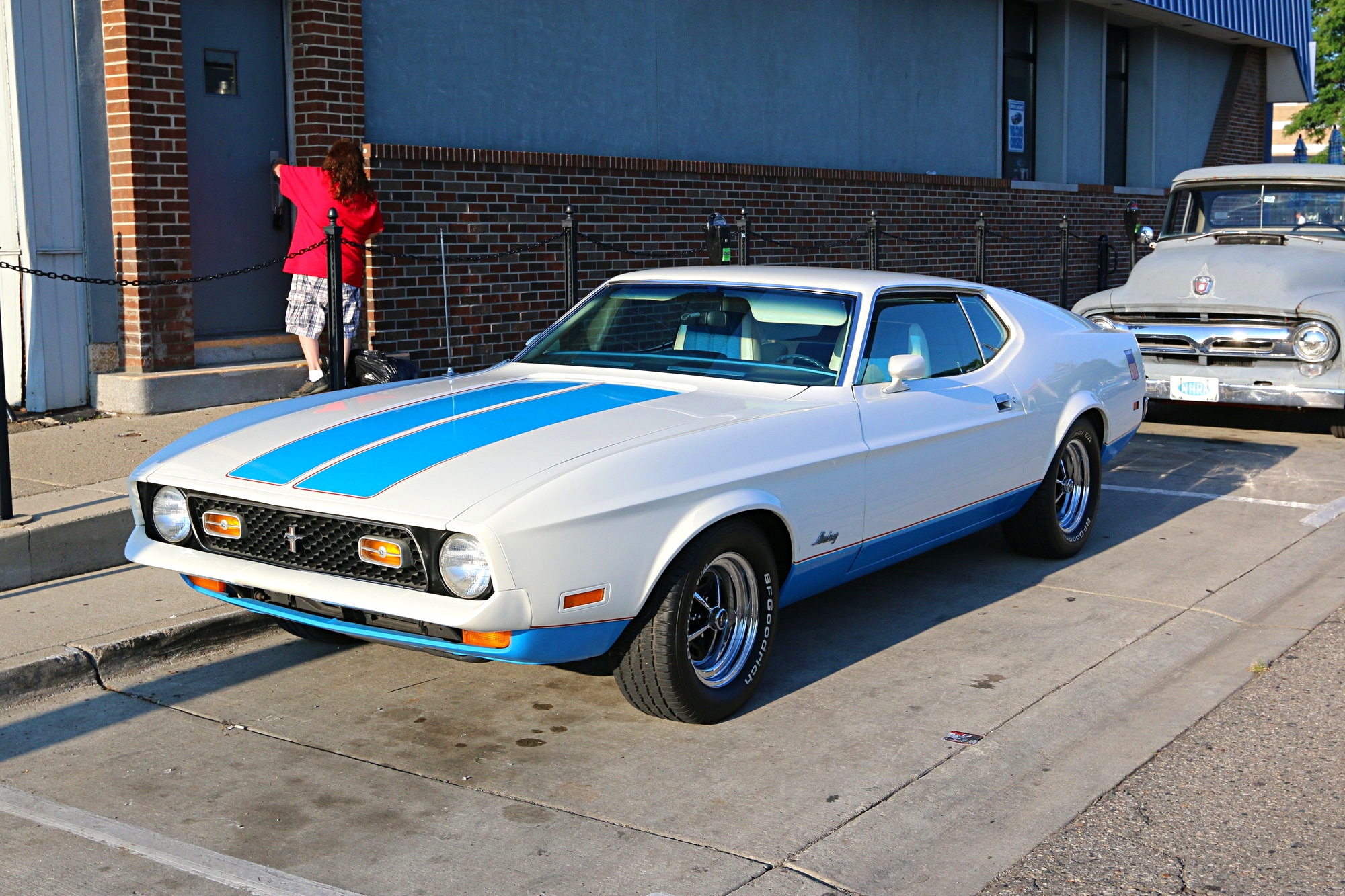 2016 Woodward Dream Cruise Mustang Alley 008