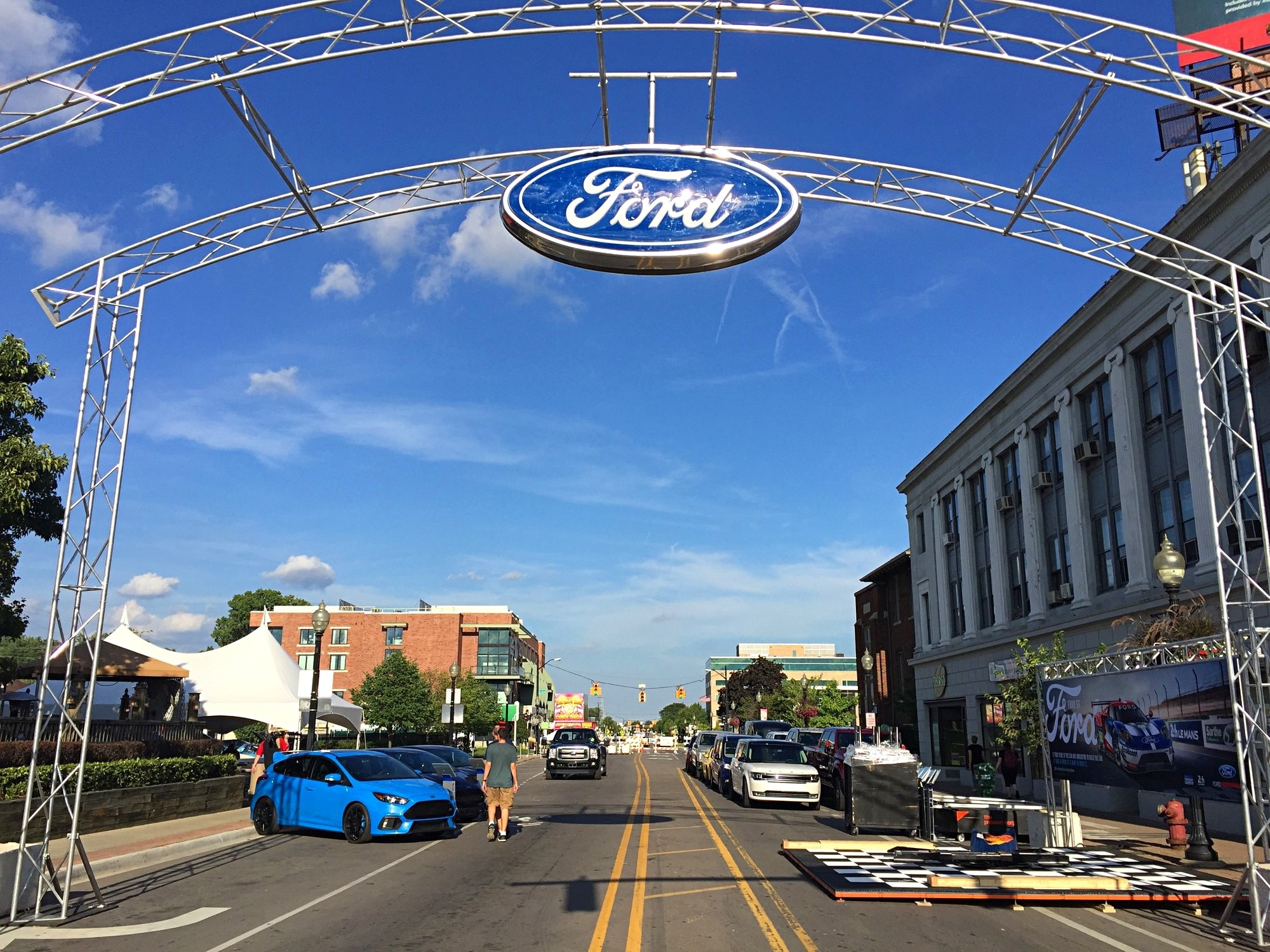 2016 Woodward Dream Cruise Mustang Alley 002