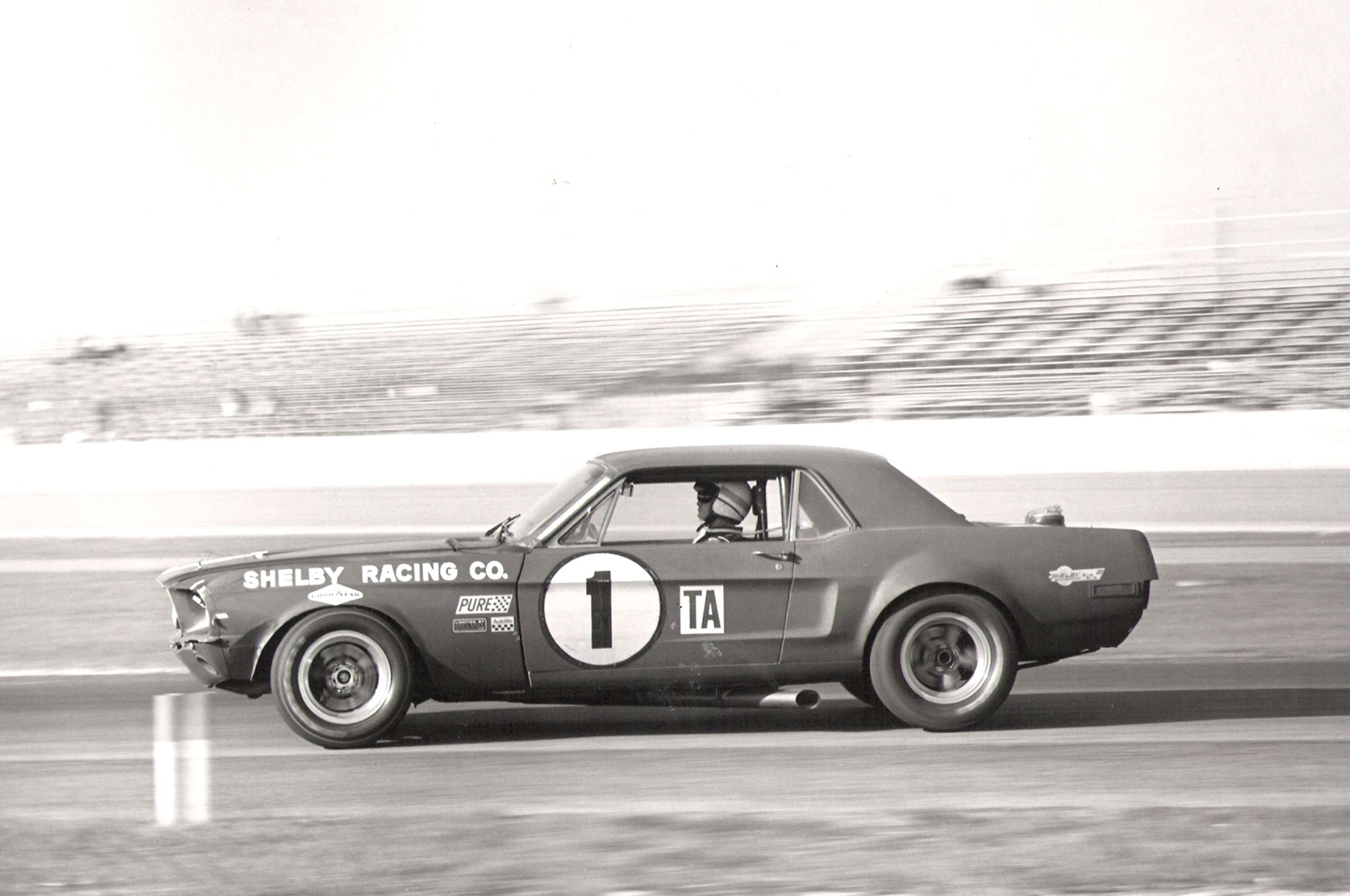 Mustang Shelby Coupe Jerry Titus