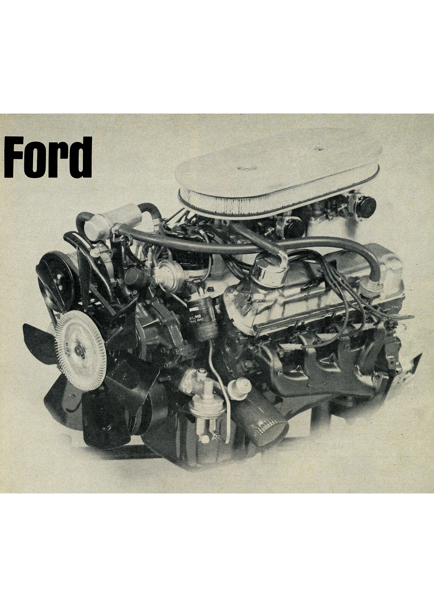 Ford 302 Tunnel Street Engine
