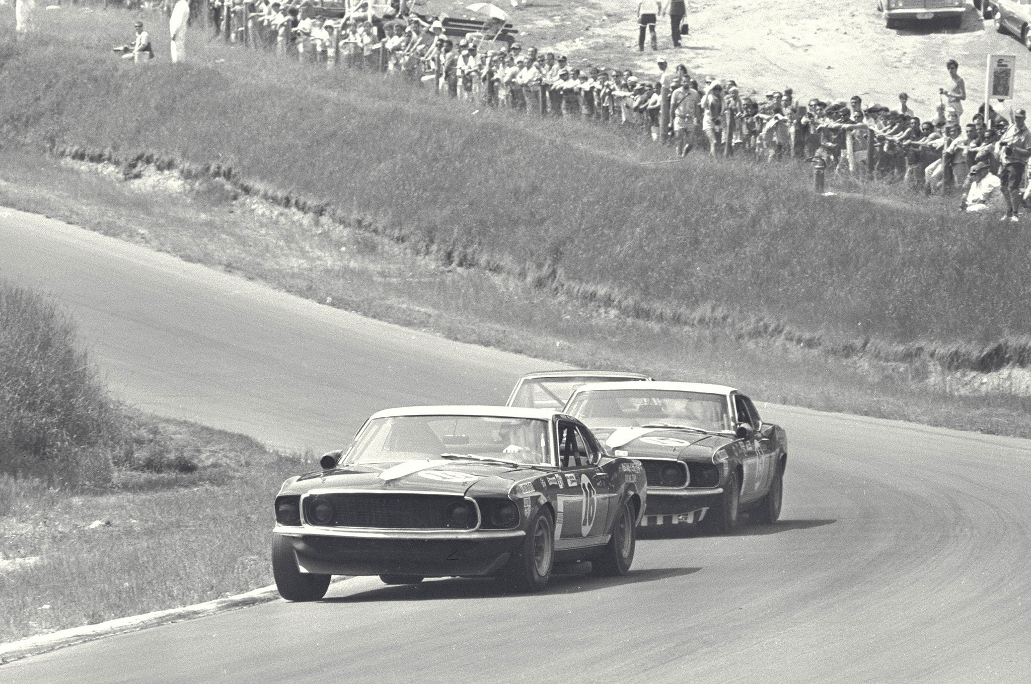George Follmer Ford Mustang