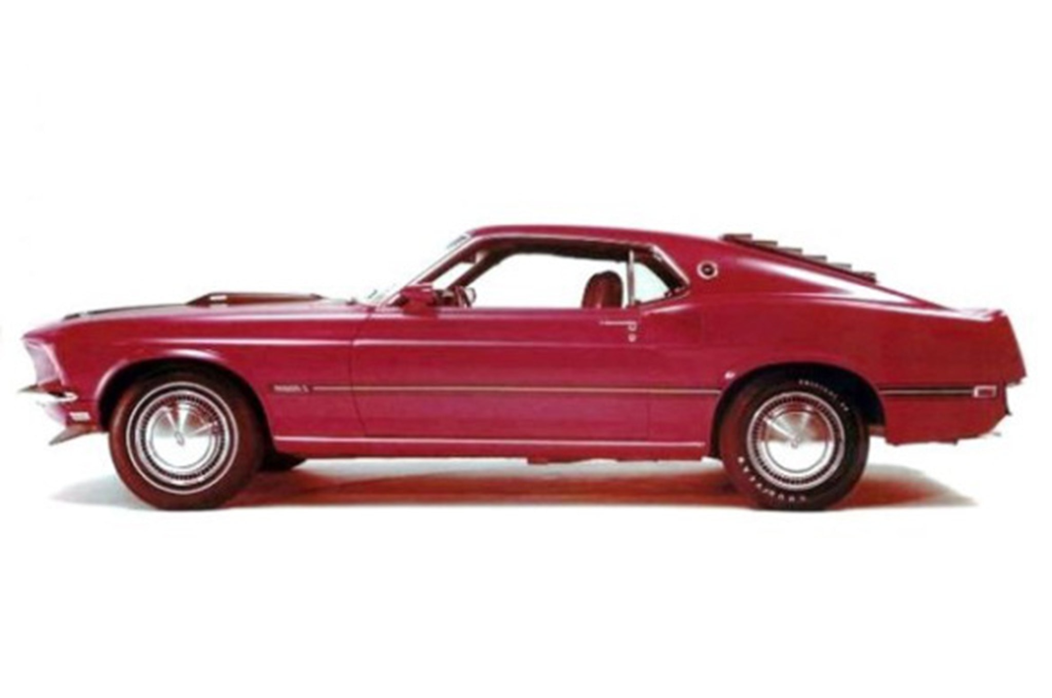 Ford Mustang Boss Mid Engine 429 Lid