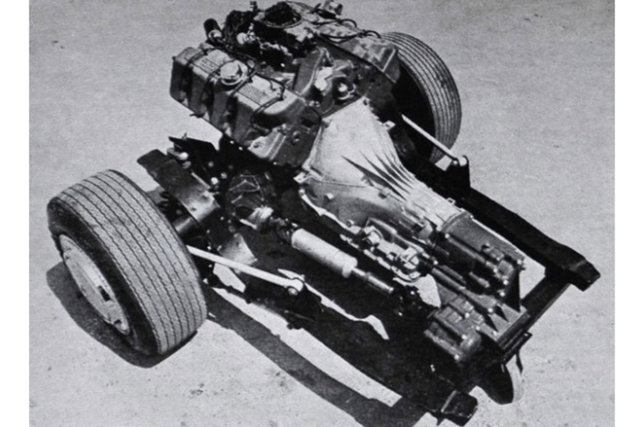 Ford Mustang Boss Mid Engine 429 Subframe